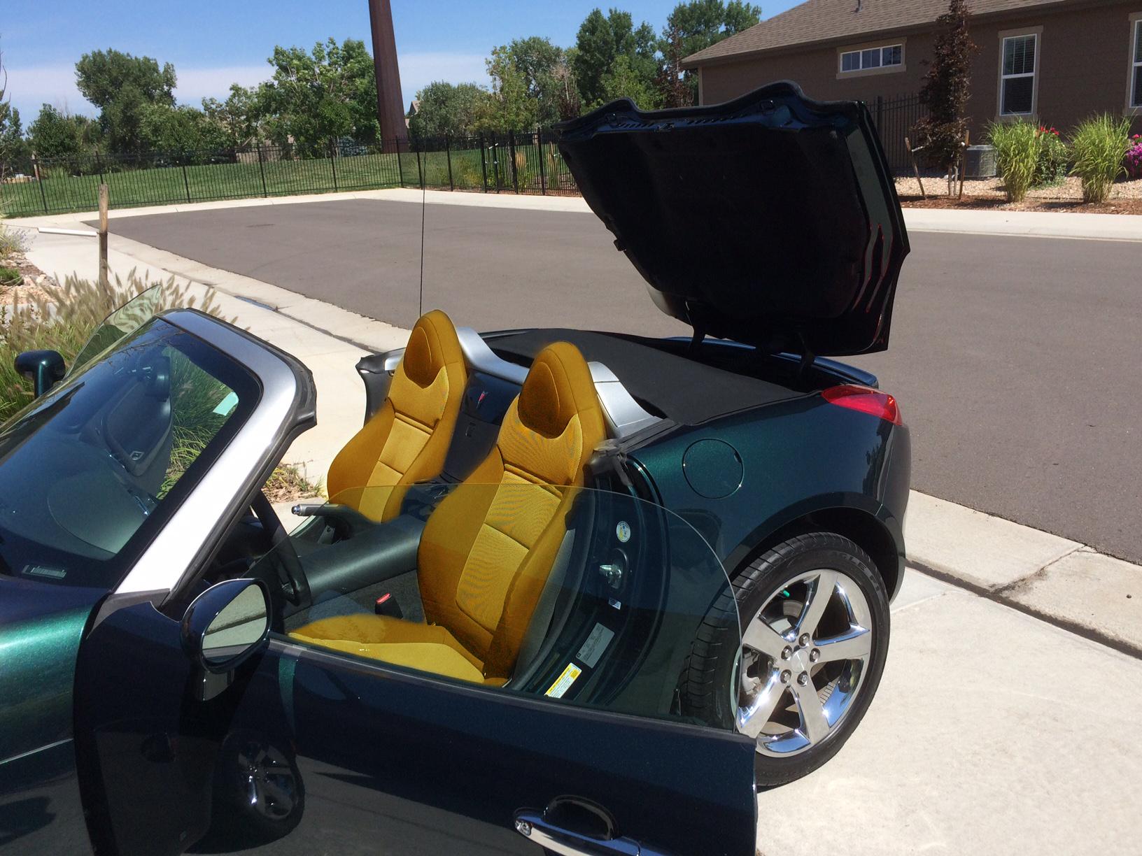 Tan Leather Seats Anyone Do This Pontiac Solstice Forum