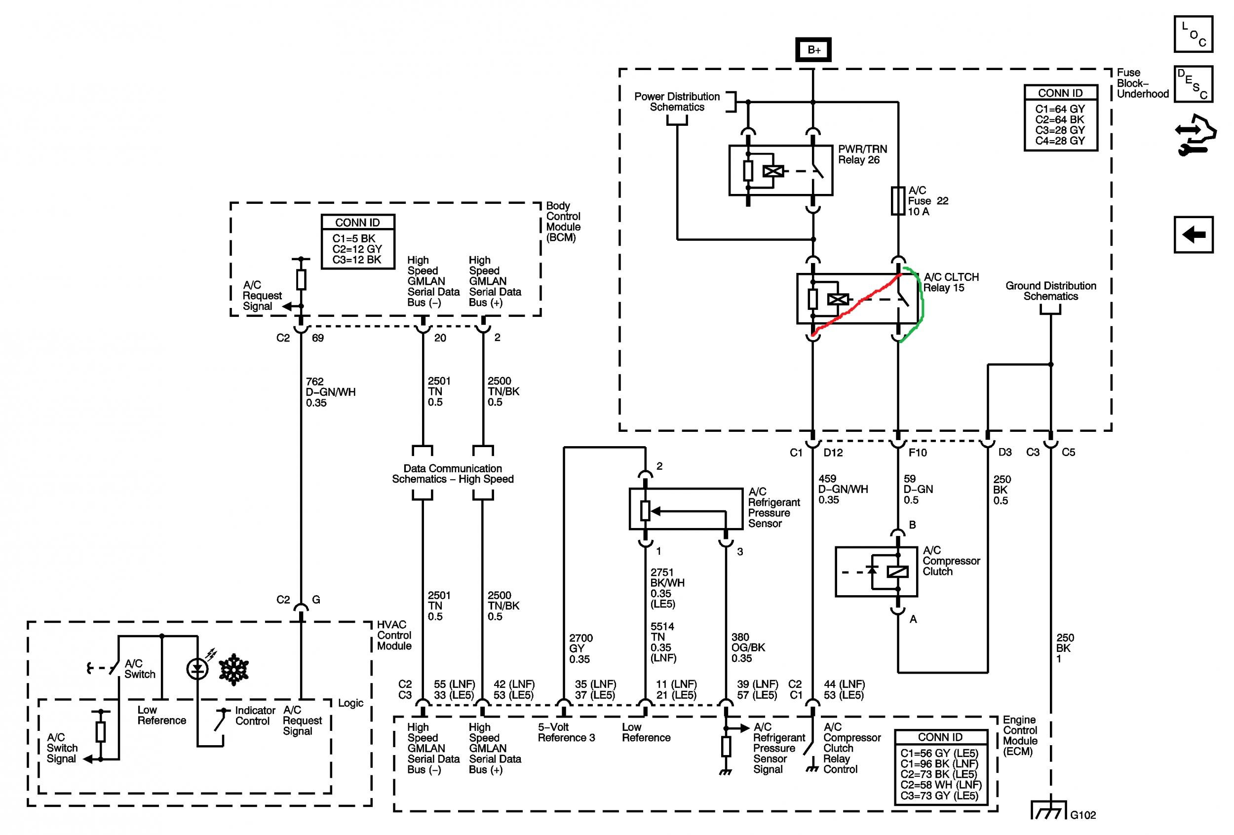 intermittent air conditioning? page 3 pontiac solstice forum Le5 Wiring Diagram click image for larger version name hv jpg views 2108 size 305 5 LE5 Underdrive Pulley