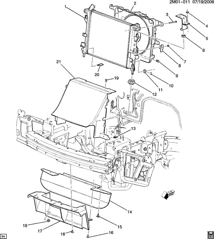 Solstice Exhaust System Diagram