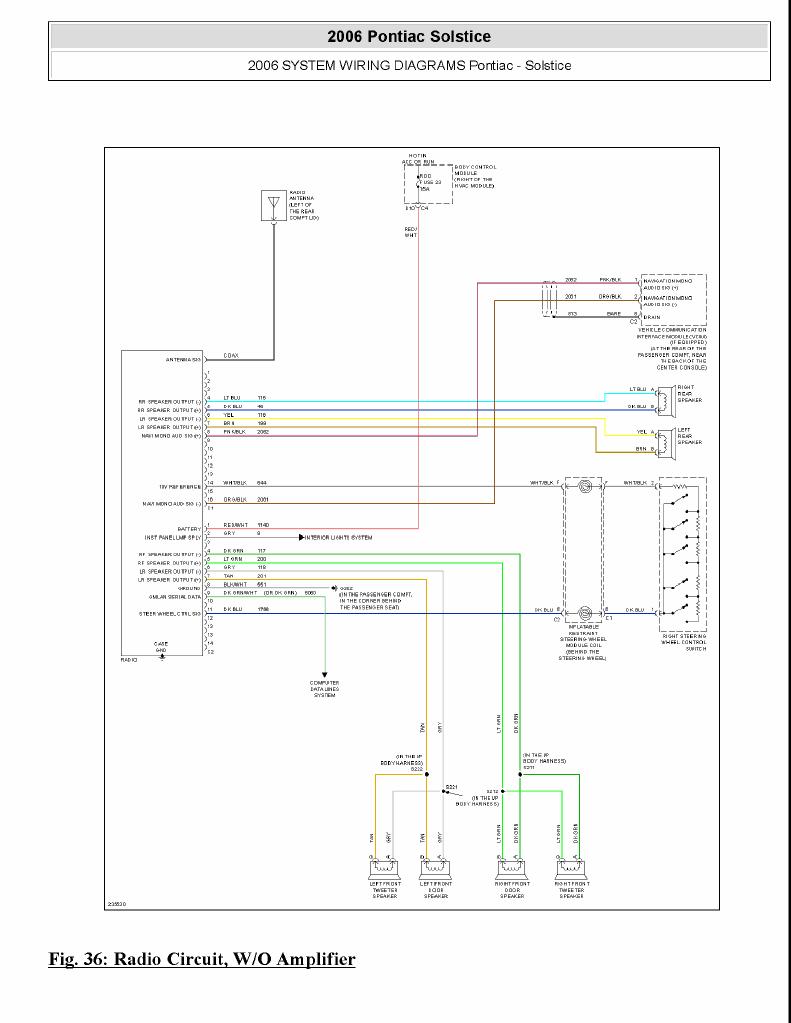 Monsoon AMP wiring diagram | Pontiac Solstice ForumPontiac Solstice Forum