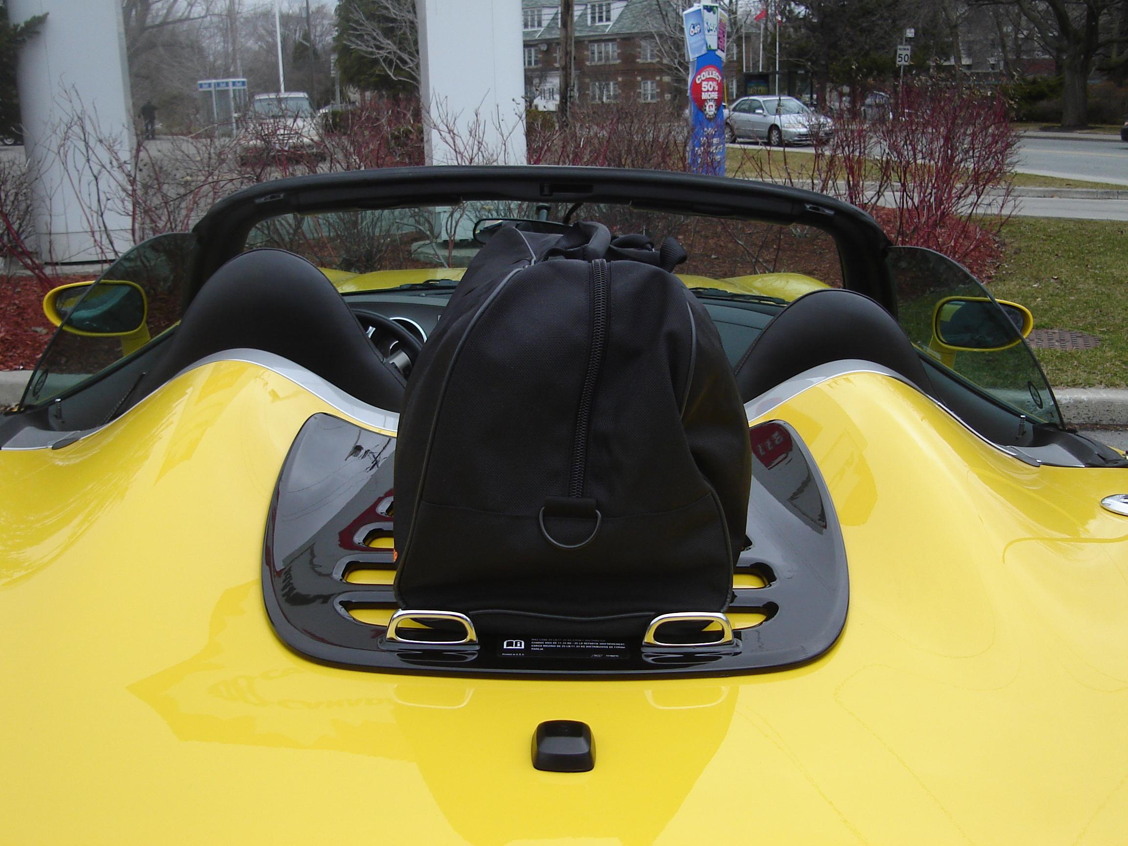 Gm Luggage Rack Installed Pontiac Solstice Forum