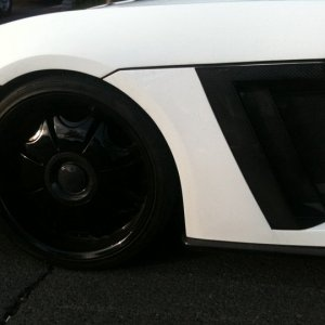 Nankoo Design wide body kit for Solstice