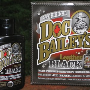Doc Bailey's Leather Black