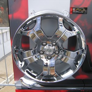 Cast Chrome Wheels -  Accessory