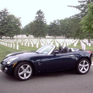 Solstice at Arlington National Cemetary on Memorial Day 1