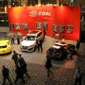 EDAG booth at the 2007 Detroit Auto Show